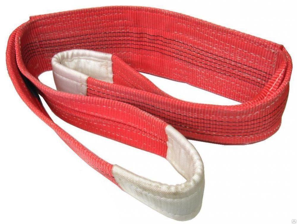 Строп 2-х петлевой текстильный полиэстер 5т / 5м (запас 7:1) – купить в Москве, низкая цена с доставкой